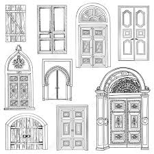 front door clipart black and white. Medieval Doors Clipart - Google Search Front Door Black And White