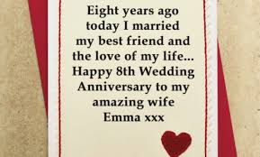 ideas for 10th ruby wedding anniversary gifts gettingpersonal co personalised 10th wedding anniversary card by jenny arnott cards