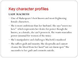 essay lady macbethcharacter of lady macbeth essay   essay topics essay on macbeth characteristics image