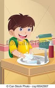 boy washing dishes clipart. Modren Clipart Little Boy Washing Hands  Csp16542907 To Boy Washing Dishes Clipart A
