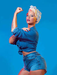 Amber Rose Transforms Into History s Feminist Icons for Paper
