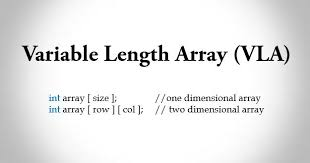 int size c variable length array in c programming with example trytoprogram