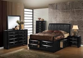 Global Bedroom Furniture Hayden Black Bedroom Set By Global Furniture