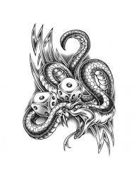 Tetování Motivy Motorky