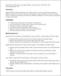 cell phone sales representative resume telephone - Cell Phone Sales Resume