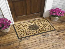 outdoor front door matsDoors  Windows  Finding The Right Front Door Mats With B