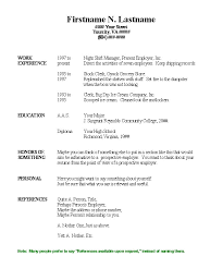 basic resume template free copy and paste resume templates