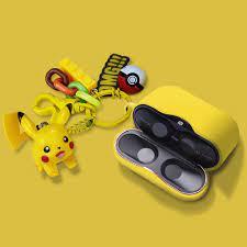 Tai Nghe Bluetooth Không Dây Sony Wf-1000 Xm3 Hình Pikachu