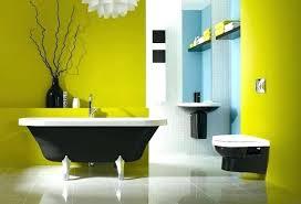 bathroom colors yellow. Yellow Bathtub Color Scheme Cool Bathroom Colors Related Posts Schemes Blue Gray Interior Decoration