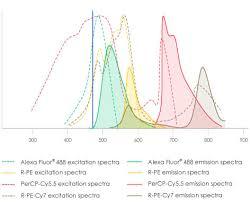 Laser Dye Chart Understanding Fluorophores Abcam