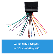 cable car stereo wiring harness plug adapter for volkswagen audi Audi Stereo Wiring Harness audio cable car stereo wiring harness plug adapter for volkswagen audi passat sagitar candy magotan bmw ford audi a4 stereo wiring harness