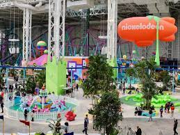 American Dream megamall opening day, Nickelodeon Universe photos
