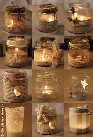 Decorating Mason Jars With Ribbon 100 DIY Tutorials to Make Candles in Mason Jars Pretty Designs 59