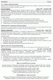 Ccna Cv Ccna Resume Examples Resume Sample