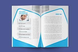 resume booklet resume booklet template modern resume template cv template cover letter teacher resume instant download digital file vol 02