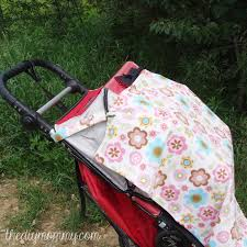 sew a 3 in 1 nursing cover stroller shade and cat canopy