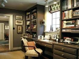 home office decor brown. Masculine Home Decor Office  Decorating Ideas Gray Transitional Home Office Decor Brown N