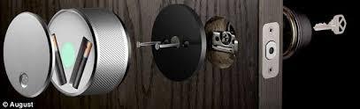 smart front door locksThe smart lock that lets you open your front door using just your