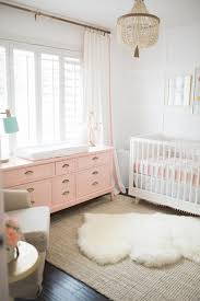 9/9; White and Pink Baby Girl Nursery Reveal