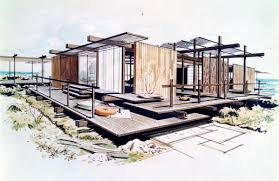 architectural design drawing. Architecture Design Collection Art Museum Architectural Drawing V