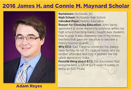 academic works ecu maynard scholars