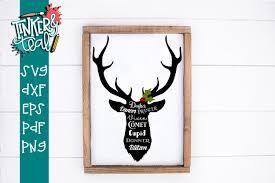 Download elk logo vector in svg format. Christmas Reindeer Svg Cut File 163318 Svgs Design Bundles