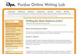 Purdue Owl Apa Cover Letter Primeliber Com