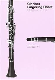 Clarinet Fingering Chart Amazon Co Uk Various