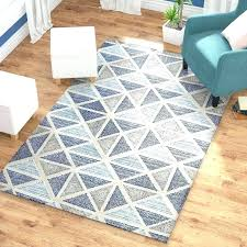 tufted wool rug hand blue area rugs world market faux cowhide
