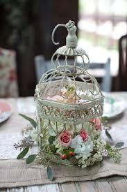 Wedding Birdcage Table Centerpiece