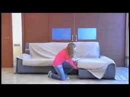 como montar funda cubre sofa chaise