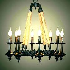 most matchless outdoor candle chandeliers wrought iron non chandelier electric hanging