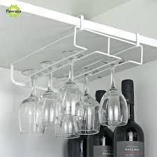 wine glass racks rack under cabinet basket for dishwasher wire ikea