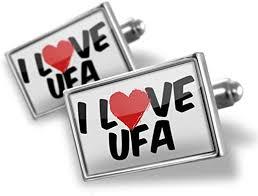 Cufflinks <b>I Love Ufa</b> - Neonblond: NEONBLOND: Amazon.co.uk ...