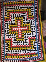 12 best Ralli quilts images on Pinterest   Embroidery, Colours and ... & Ralli Quilt Design No. RQ-01 100% Cotton Hand stitched Beautiful Sindhi  Colours Adamdwight.com