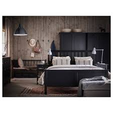 Bed Frame Design Hemnes Bed Frame King Lapnset Ikea