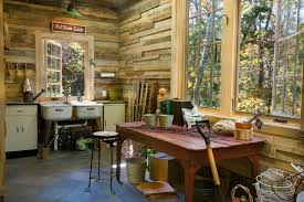 potting shed rustic garden shed and