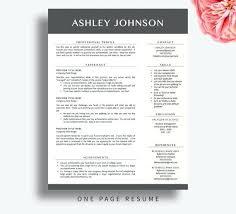 Free Modern Resume Template Downloads Professional Cv Template Free Modern Resume Template Free Download