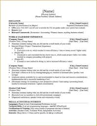 Resume Template With Current And Permanent Address Best Of