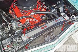 1965 chevy el camino overheating fix hot rod network time to roll out the big guns a flex a lite aluminum radiator