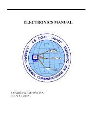 Comdtinst M10550 25a Us Coast Guard Response Boat Medium