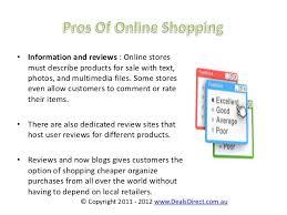advantages and disadvantage of online shopping dealsdirect com au 5