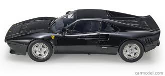 1985 ferrari 288 gto, serial number zffpa16b000055227, pininfarina designed group b supercar, rosso corsa with black leather, 2.8 litre twin turbo v8 engine, 5 speed gear box, optioned with air conditioning and power windows, delivered new april 1, 1985 via symbol car s.p.a. Topmarques Tm12 31b Scale 1 12 Ferrari 288 Gto 1984 Black