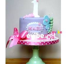 Birthday Cake For Baby Girl Princess Potter Bunny First Babyplanet
