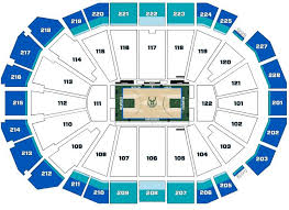 Bucks Seating Chart Wisconsin Entertainment Sports Center Seating Chart Tickpick