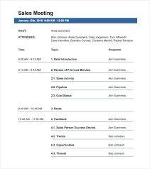 Basic Meeting Agenda Template Interesting Meeting Agenda Templates Doc Free Premium Template Pdf Business