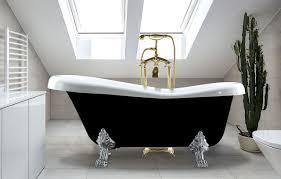 alcove cast iron bathtub black claw foot bath birthday ft