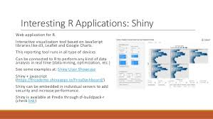 Application Examples Stunning R As Supporting Tool For Analytics And Simulation