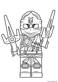 Small Picture lego ninjago jay Coloring pages Printable