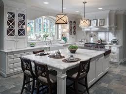 white kitchen island design island seating island leg post design white  marble countertops butcher block island